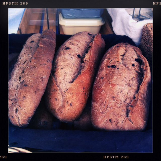 Fresh bread from Fre-Jac Bakery...