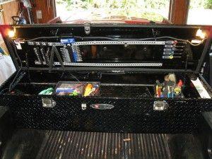 truck tool box organizers