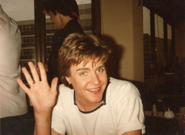 Simon Le Bon at the BBC TV Studio, Manchester - 8th August 1981.