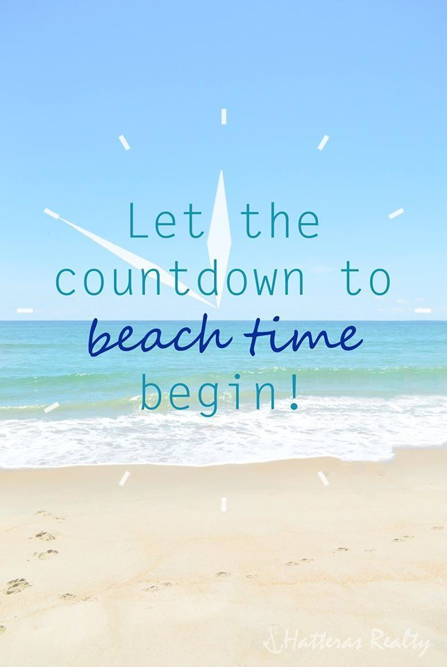 Are you counting down the days until your next vacation? How many days left? #vacation #beach #beachlife  Still need to book a vacation? We can help!   www.sunsetproperties.travel