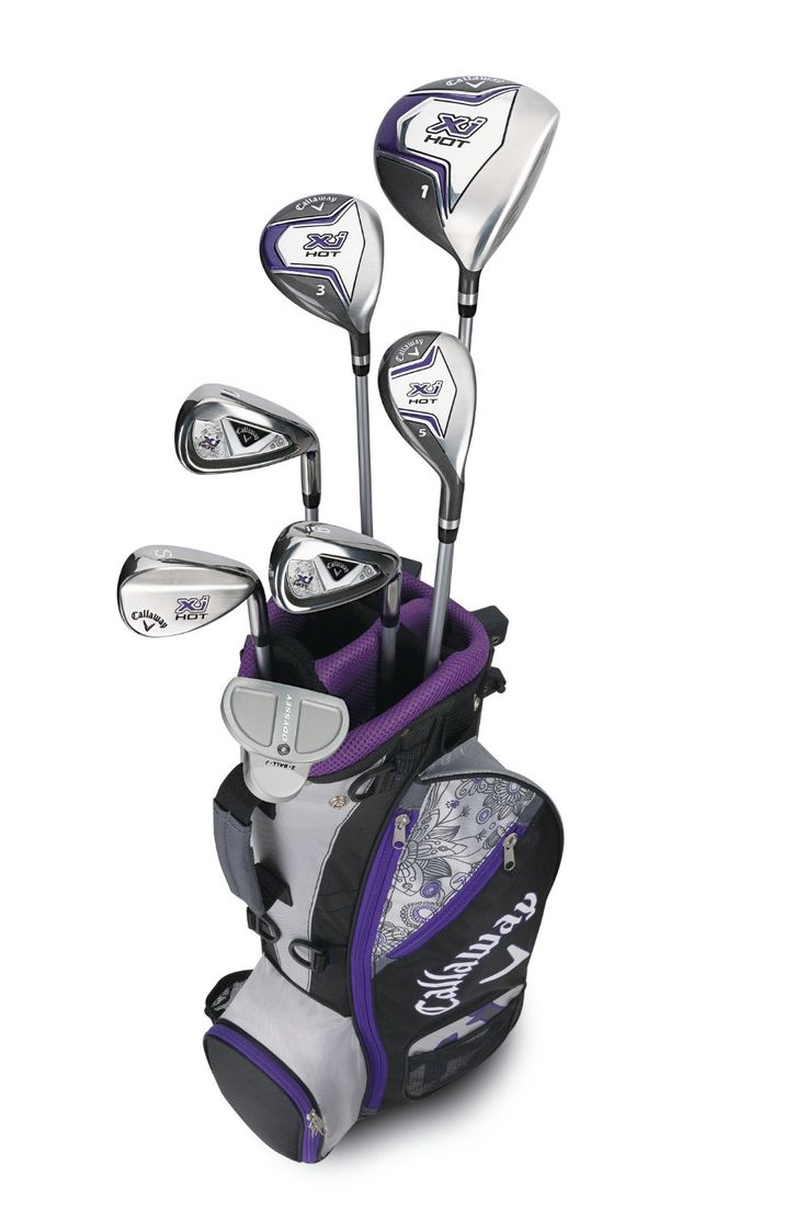 Callaway Girls XJ Hot Junior Complete Golf Club Sets
