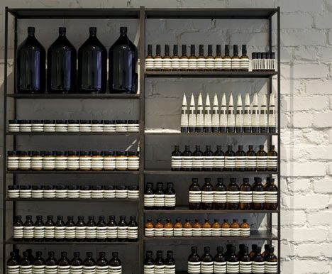 French designers Ciguëmodelled this north London store for skin and haircare brand Aesopon a 1930smedical laboratory.