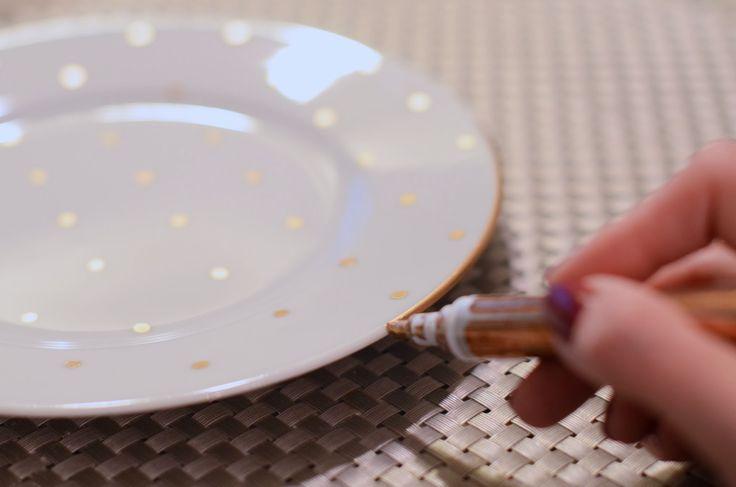 Best 25 gold polka dots ideas on pinterest polka dot for Gold polka dot china