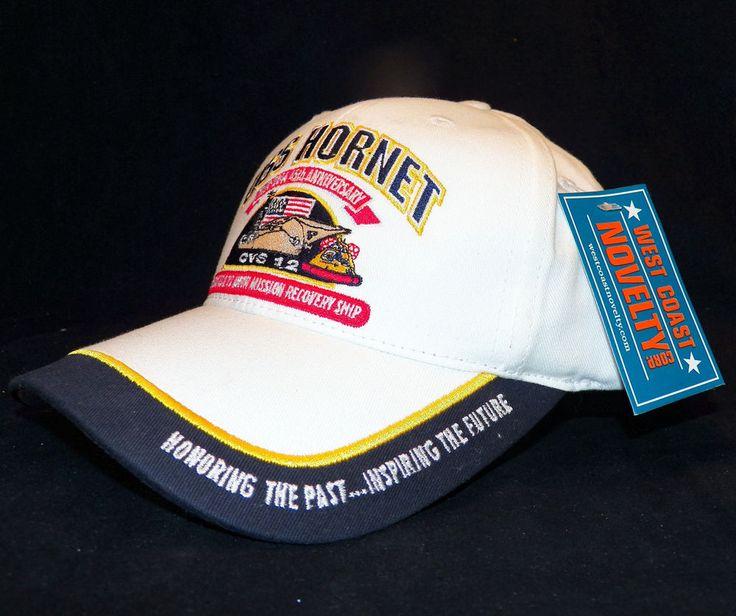 USS Hornet CV 12 Apollo 11 12 Splashdown Recovery 45th Anniversary Ball Cap Hat