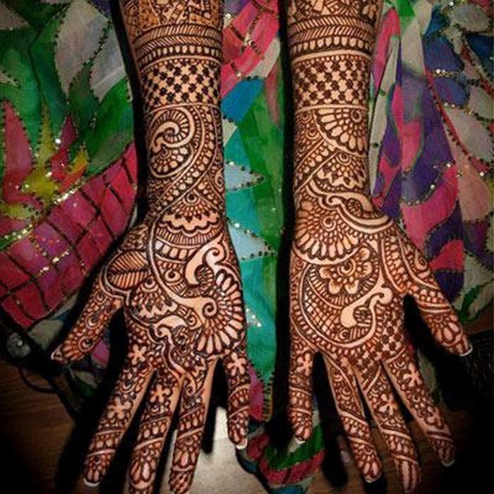 15 Beautiful Bridal Mehendi Designs for Hands - HitFull.com