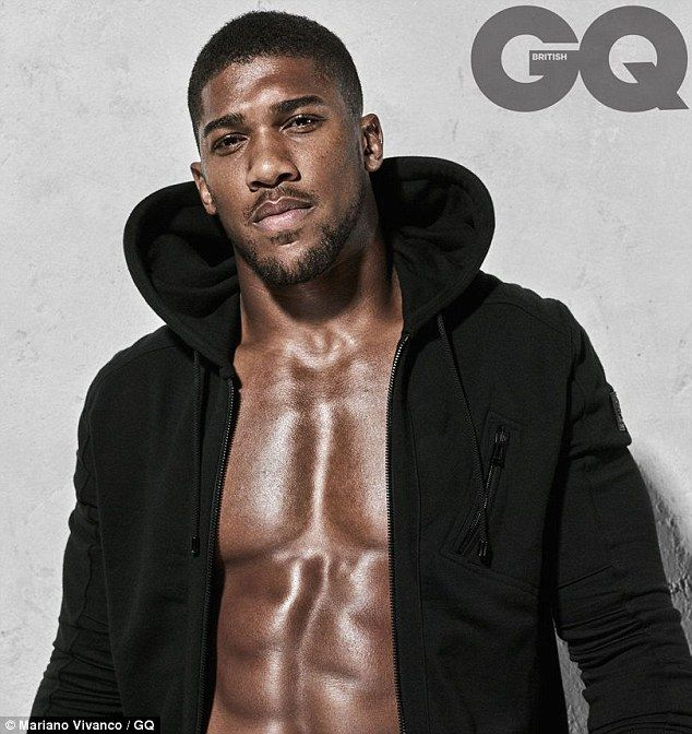 Boxer Anthony Joshua is the cover star for the April edition of British GQ Magazine