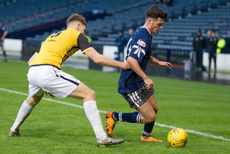 Queen's Park's Aidan McIlduff in action during the Ladbrokes League One game between Queen's Park and East Fife.