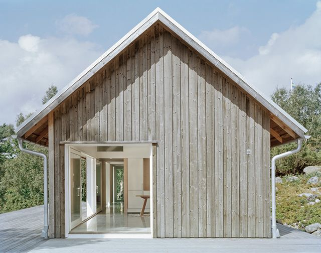 Love the natural timber - Summer House Bohuslan,Sweden by Mikael Bergquist Architects
