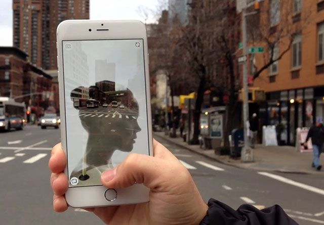 Photographer Eric Kunz has created a new iPhone app that makes it easy to create high-quality double exposure photographs using your phone. It's called Liv