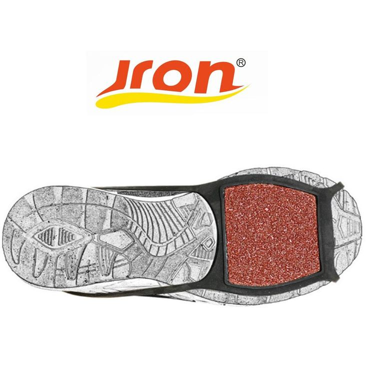 Jron 5 Pairs Coarse Sand Anti-slip Ice Gripper Shoes Spike Grips Traction Cleat Crampons Climbing Ice Gripper