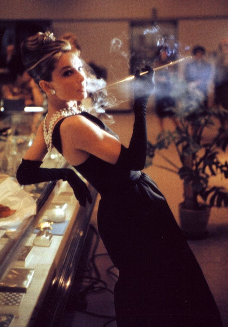 Audrey Hepburn, Breakfast At Tiffany's, 1961