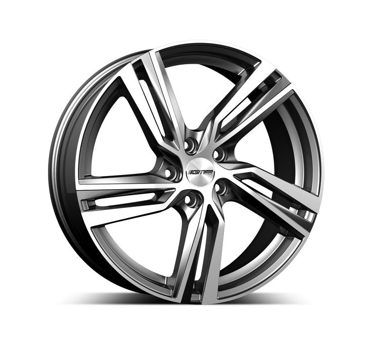 Arcan Anthracite Diamond Alloy wheel / Cerchio in lega leggera Arcan Antracite Diamantato Side