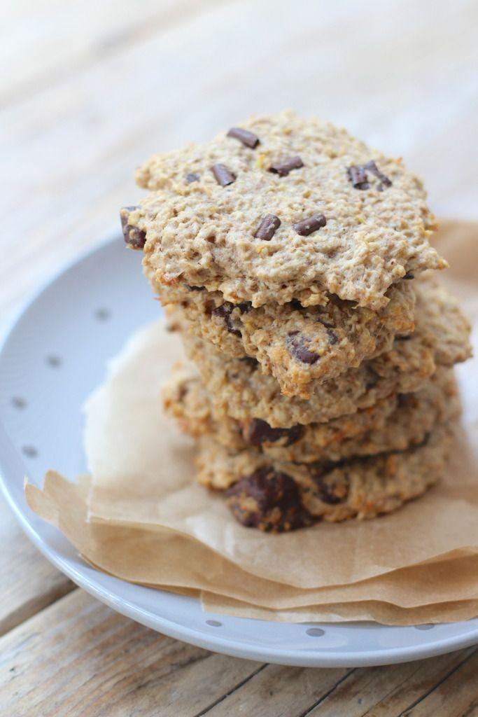 Gezondere chocolate chip cookies