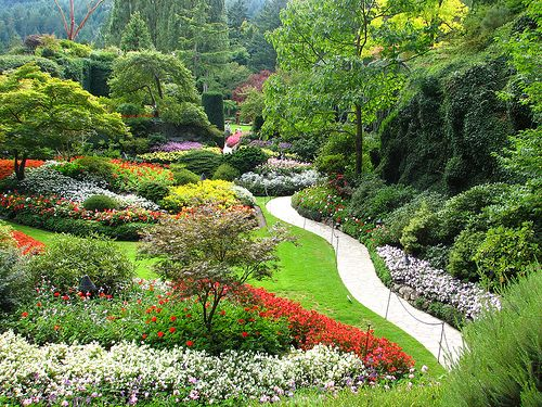 Cycle to Butchart Gardens single day guided tour. #cycling #explorevictoria #cycletreks #butchartgardens