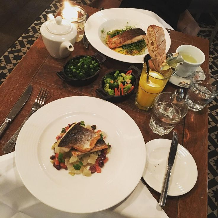 Salmon or Sea Bass, what's your favourite?