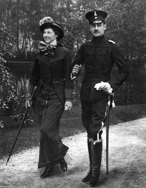 Princess Viktoria Luise of Prussia and husbandErnst August III, Duke of Brunswick