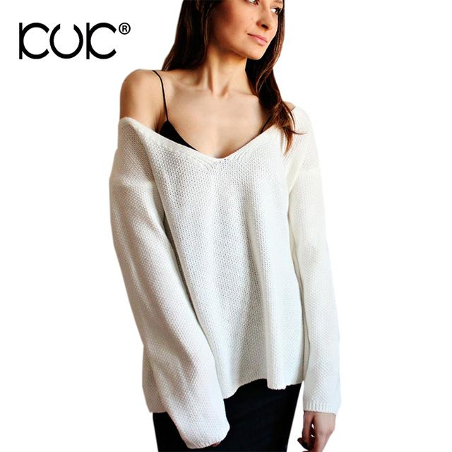 Top Sale $11.14, Buy Kuk 10 Color Sweater Women Pullover Feminino Pull Femme 2017 Casual Ladies Jumpers Pink Knitwear Sueter Mujer Autumn Winter A614