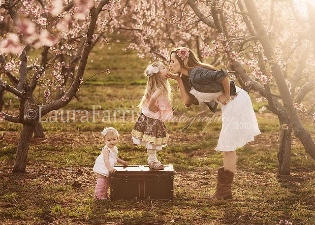 Love this - I need to get a picture of the kids in the Almond orchard this year!