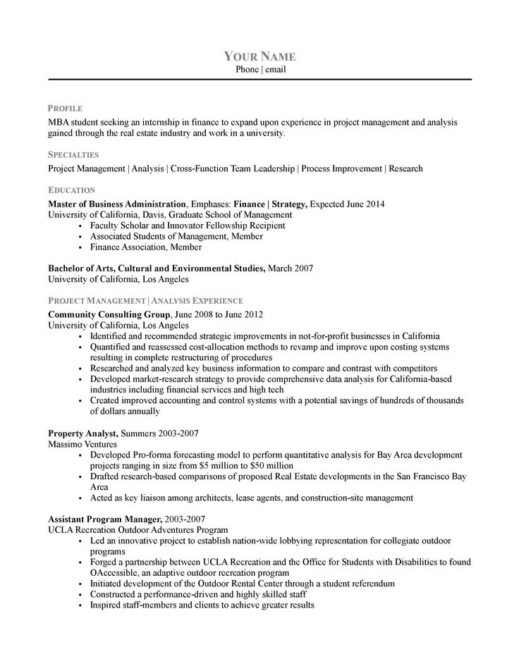 Best 25+ Chronological resume template ideas on Pinterest Resume - finance student resume