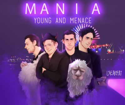 And one of the llamas is Brendon Urie. What a coincidence