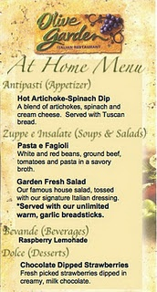 Best 25 Menu for olive garden ideas on Pinterest Olive garden