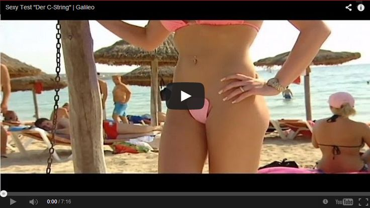 The C-String Bikini is Short on Fabric, But Big on Universal Appeal! - http://www.mustwatchnow.com/c-string-bikini-short-fabric-big-universal-appeal/