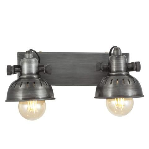 Vintage Adjustable Swivel Spotlight Wall Light/Flush Mount- Double