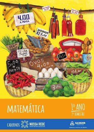Matemática | 1º Ano | 2º Bimestre – versão para alunos