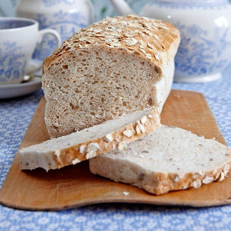 Ett gott glutenfritt bröd till frukosten.