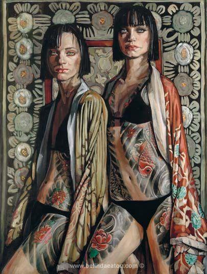 Magic Realism Paintings - Belinda Eaton