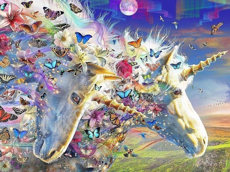 Единороги и бабочки in 2020 | Unicorn, Artwork, Art
