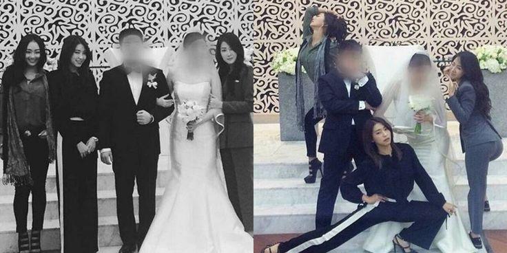 #SISTAR members steal the spotlight at staff members wedding http://www.allkpop.com/article/2017/02/sistar-members-steal-the-spotlight-at-staff-members-wedding