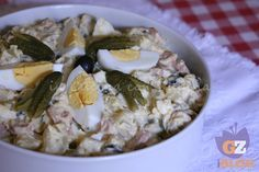 Insalata di patate con maionese, ricetta sfiziosa