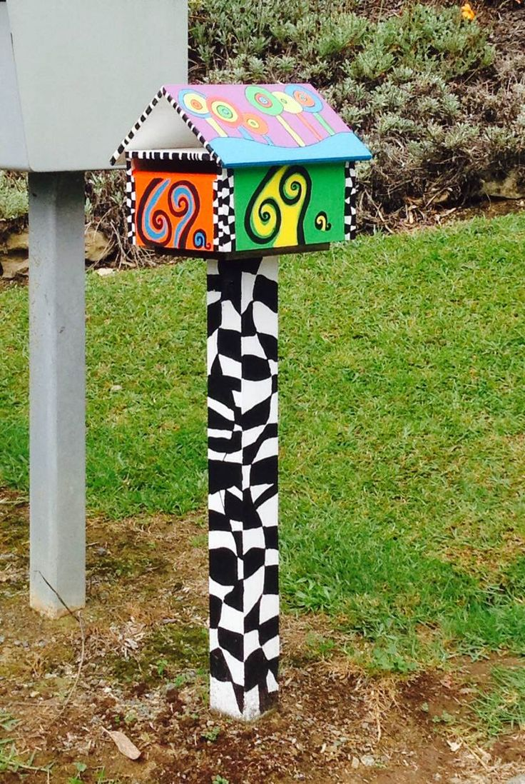 What's behind out Hundertwasser inspired letterbox!!??