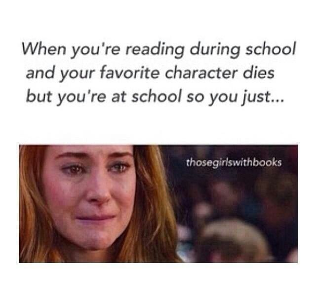 Yep. Many times too. Augustus, Tris's mom, Prim, Newt, Rue, Finnick...the list could go on.