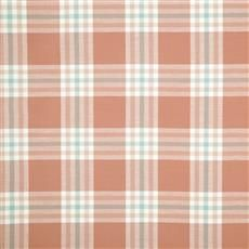Plenty Plaid - Robert Allen Fabrics Coral Reef