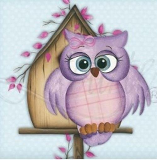 Owl art (artist unknown)