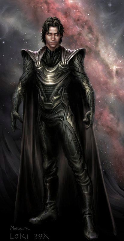 Loki - Thor Concept Art...Wow. Totally not Hiddles, but wow.