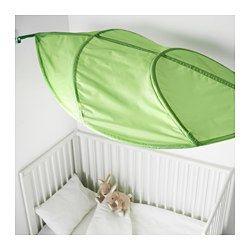 LÖVA Bed canopy, green - green - IKEA