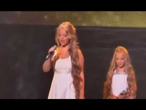 AMAZING VOICES!!!  SHARE this mother and daughter singing !