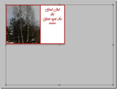 (Swedish) Så enkelt gör du egna julkort  // do you own Christmas cards