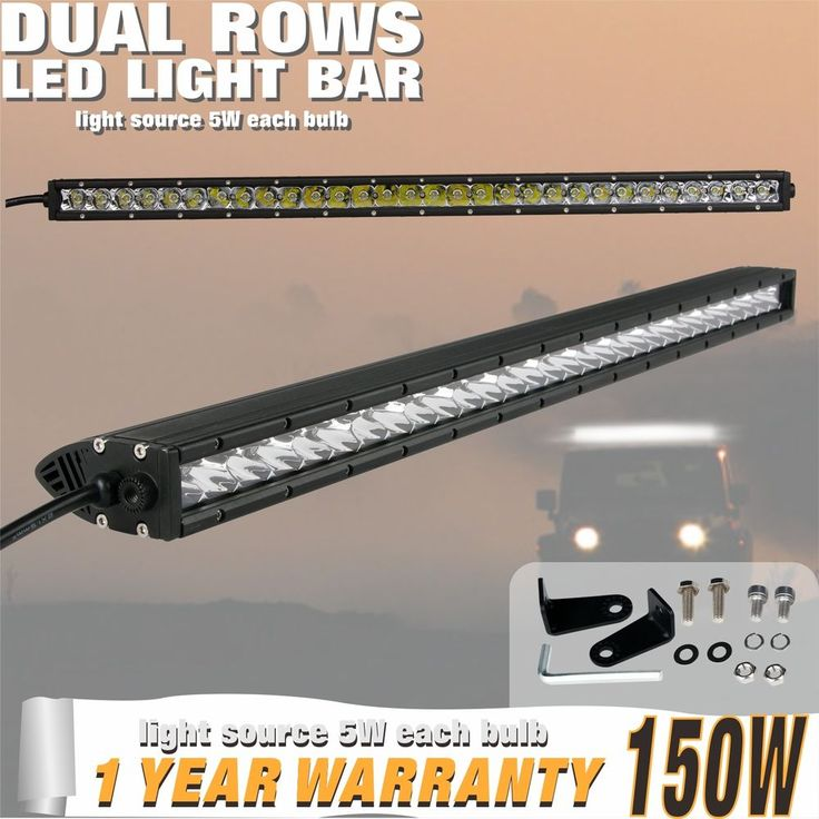 150W combo 30/31INCH Single Row CREE LED OFFROAD Light Bar UTE 4X4WD Jeep 6000K in eBay Motors, Parts & Accessories, Car & Truck Parts | eBay