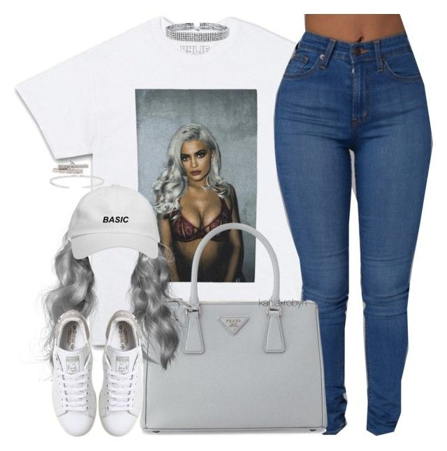 """""""Basic Tactics   I   II   XVII"""" by kahla-robyn ❤ liked on Polyvore featuring Prada, Bling Jewelry, adidas, Anne Sisteron and Afew Jewels"""