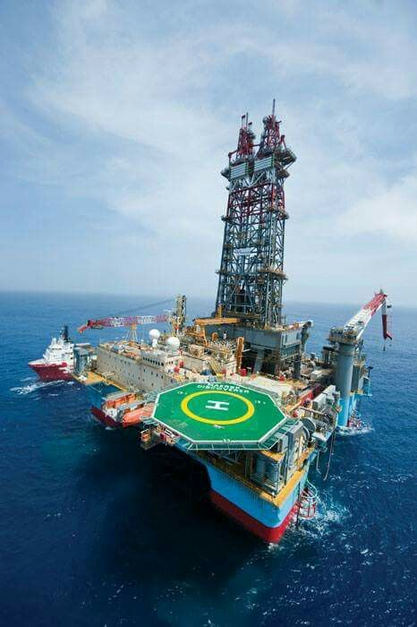 Accounting for oil platform and downward