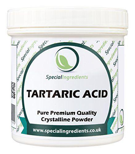 From 4.95 Special Ingredients Tartaric Acid Powder 100g Premium Quality