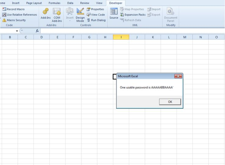 How to unprotect an excel sheet without password excel