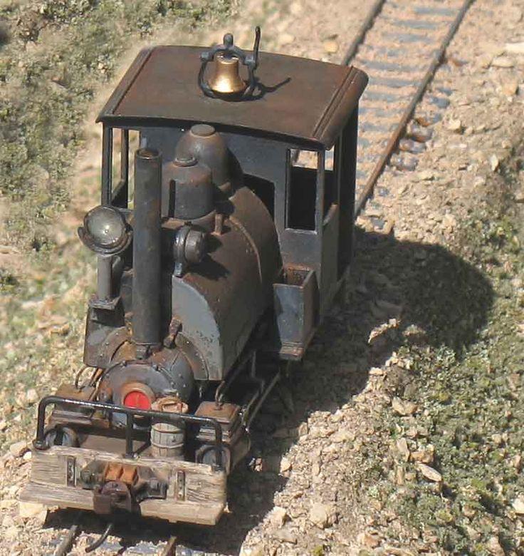 Railroad Line Forums: Earl Martin Inspired 0-4-0 Porter