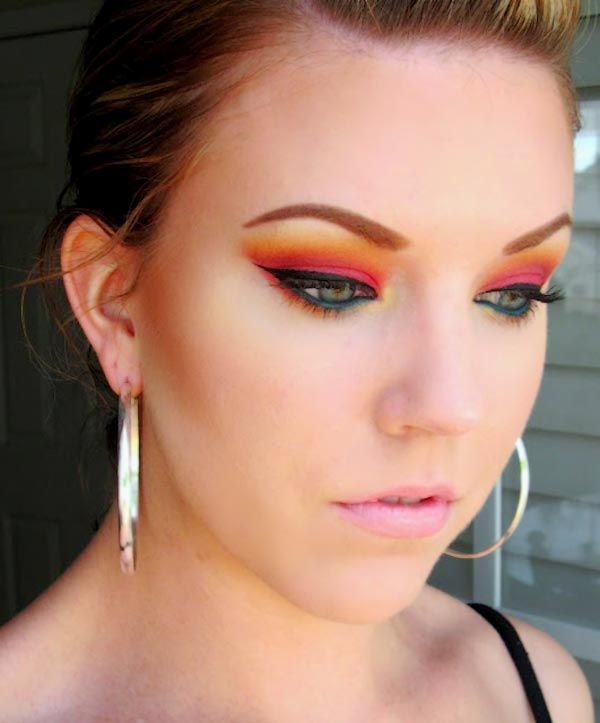 fire and flames halloween makeup ideas 2013 - Best Halloween Makeup To Use