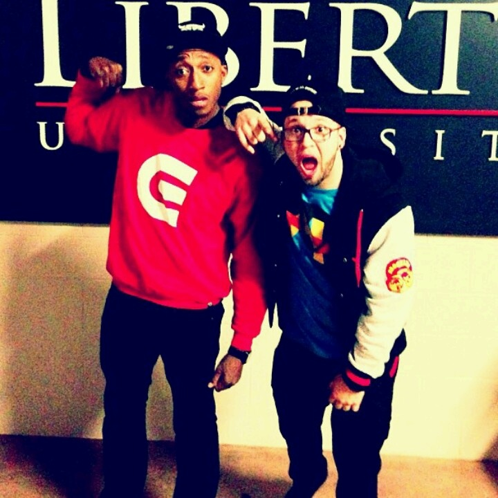 Lecrae and Andy mineo at Liberty University 45 minutes from me I saw Andy on his uncomfortable tour in Nov.
