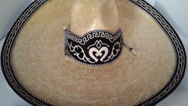 Sombrero Charro de Paja Trigo.
